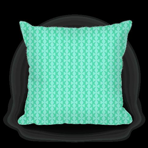 Turquoise Geometric Pattern