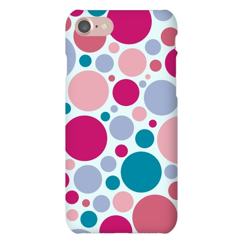 Circle Pattern Case (Blue) Phone Case