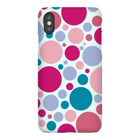 Circle Pattern Case (Blue) Phone Case