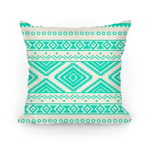 Aztec Pattern Pillow
