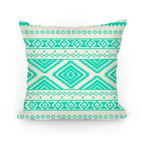 Aztec Pattern Pillow