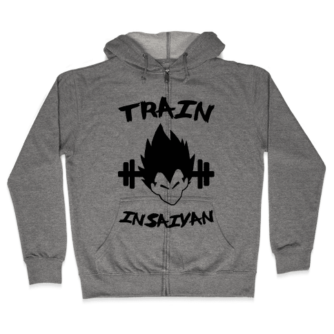 Train InSaiyan Zip Hoodie