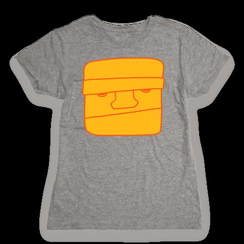 THE CLOBBERING HERO (MINIMAL) Womens T-Shirt