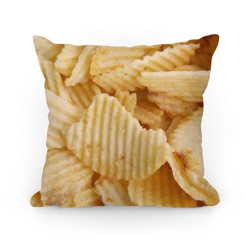 Potato Chip Pillow Pillow
