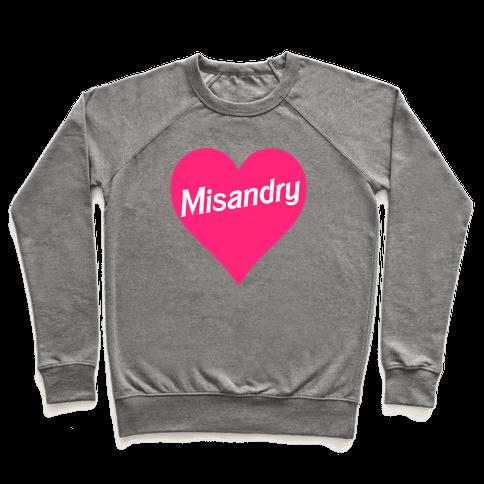 Misandry Heart Pullover