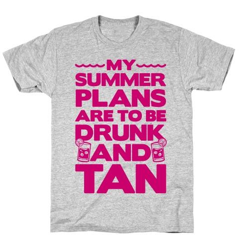 My Summer Plans T-Shirt