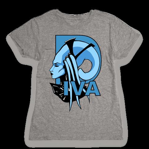 Diva Womens T-Shirt