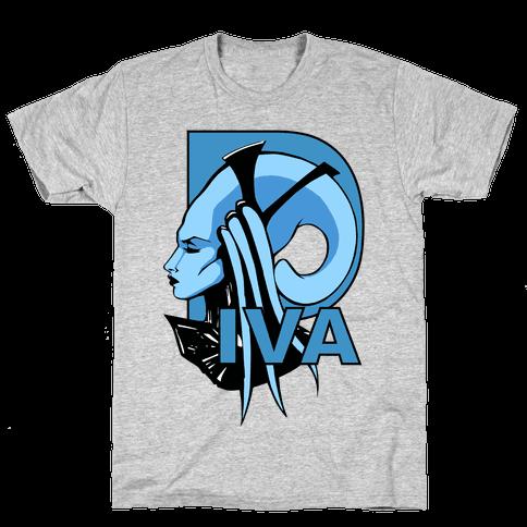 Diva Mens T-Shirt