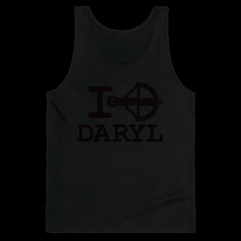 I <3 Daryl Tank Top