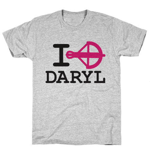 I <3 Daryl Mens T-Shirt