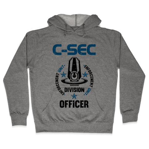 C-SEC Enforcement Unit Hooded Sweatshirt