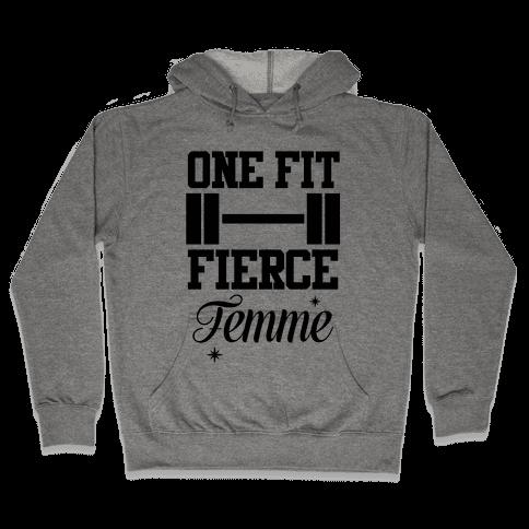 One Fit Fierce Femme Hooded Sweatshirt