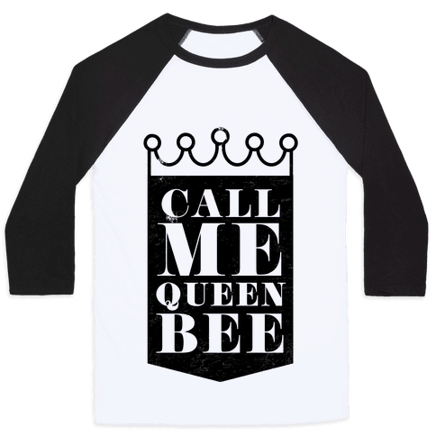 Queen Bee Baseball Tee