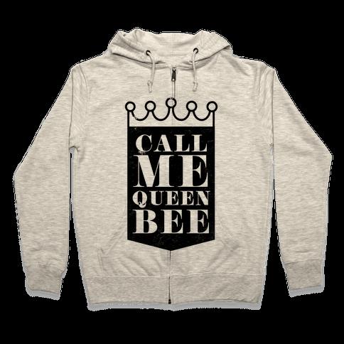 Queen Bee Zip Hoodie
