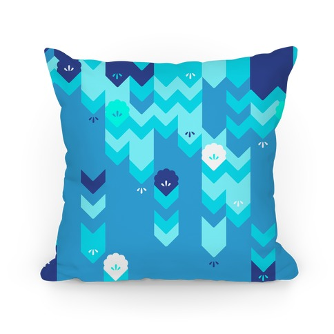 Winter Sweater Pattern Pillow