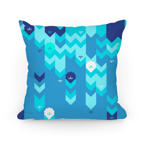 Winter Sweater Pattern Pillow