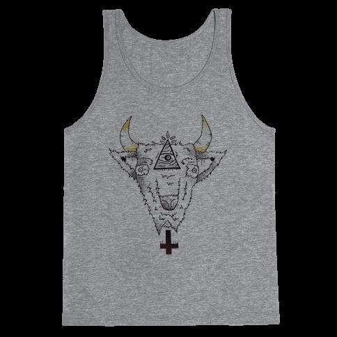 Hail Satan Tank Top