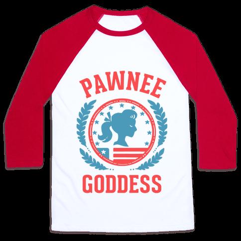 Pawnee Goddess Baseball Tee