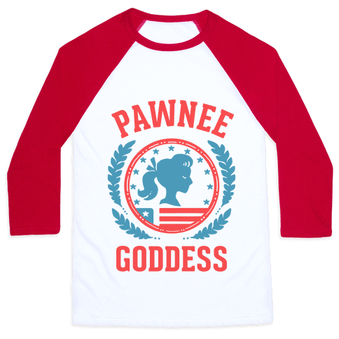 Pawnee Goddess Baseball Tee
