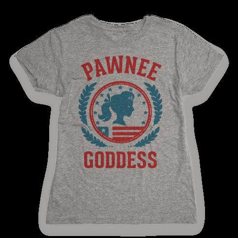 Pawnee Goddess Womens T-Shirt