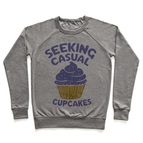 Seeking Casual Cupcakes Pullover