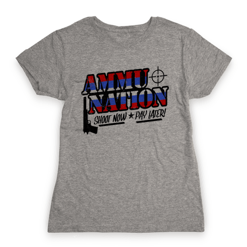 Ammu-Nation Womens T-Shirt