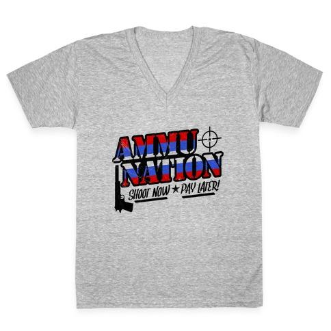 Ammu-Nation V-Neck Tee Shirt