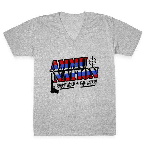 Ammu-Nation V-Neck Tee Shirt
