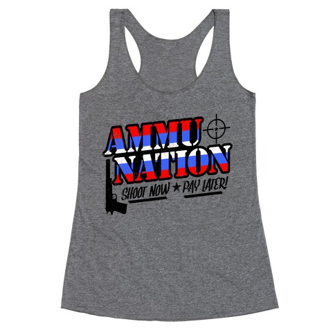 Ammu-Nation Racerback Tank Top