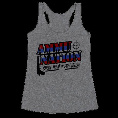 Ammu-Nation Racerback Tank Top
