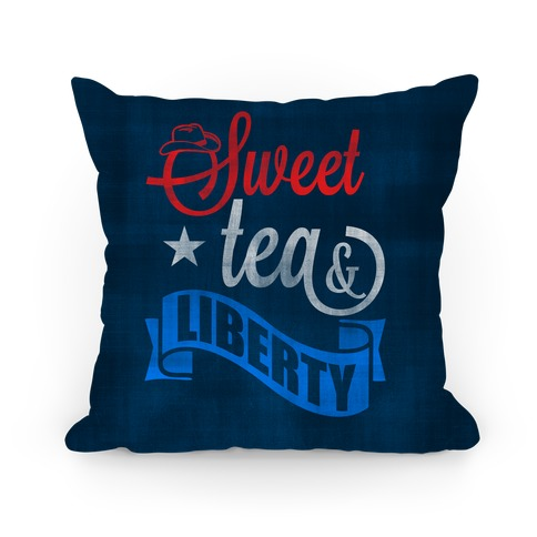 Sweet Tea & Liberty Pillow
