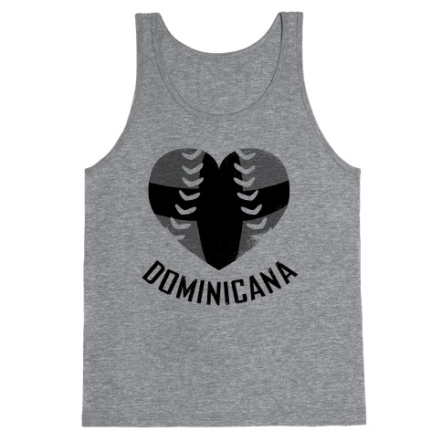 Dominican Baseball Love (Baseball Tee) Tank Top
