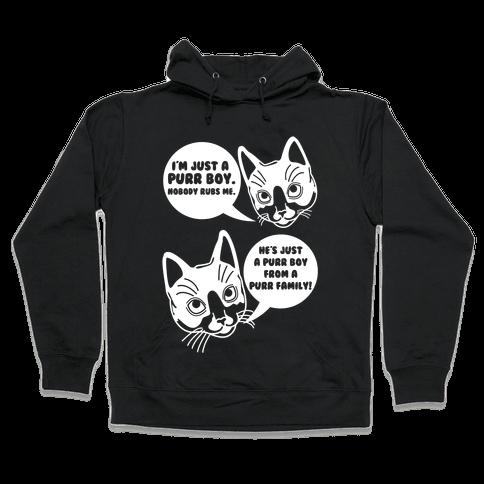 Purr Boy Hooded Sweatshirt