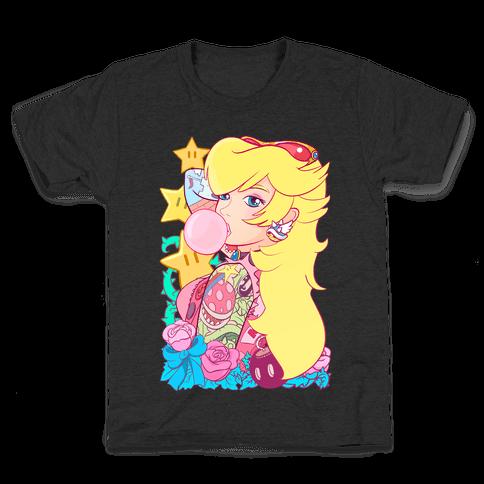 Punk Peach Parody Kids T-Shirt