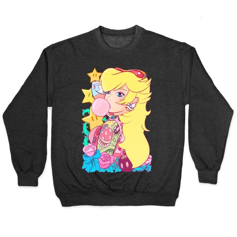 Punk Peach Parody Pullover