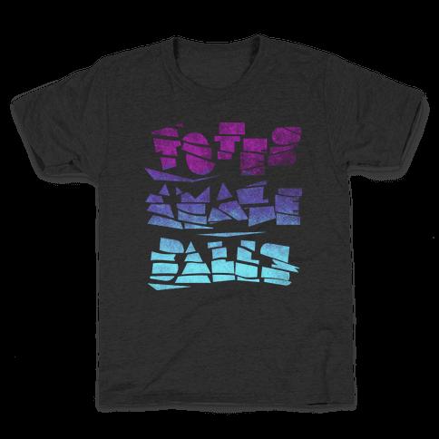 Totes Amazeballs (Dark) Kids T-Shirt