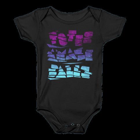 Totes Amazeballs (Dark) Baby Onesy