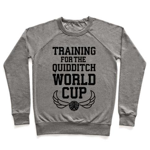 Training For The Quidditch World Cup Pullover