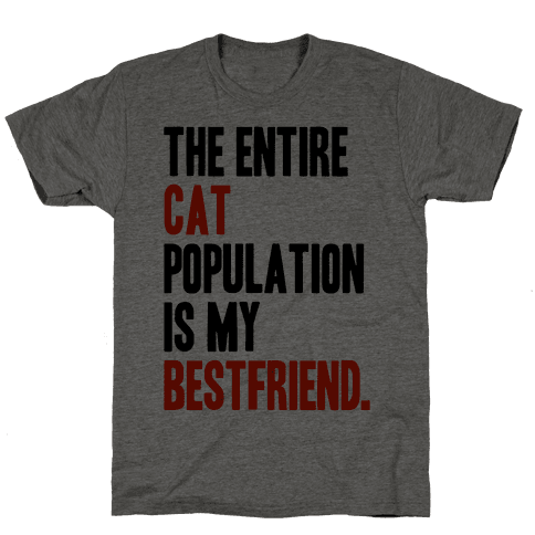 The Entire Cat Population Is My Best Friend