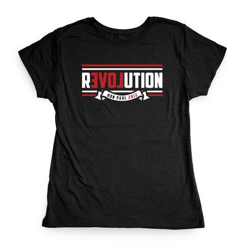 Paul Revolution 2012 Womens T-Shirt