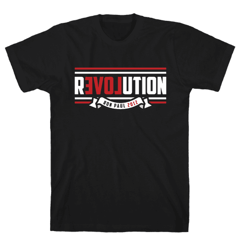 Paul Revolution 2012 Mens T-Shirt