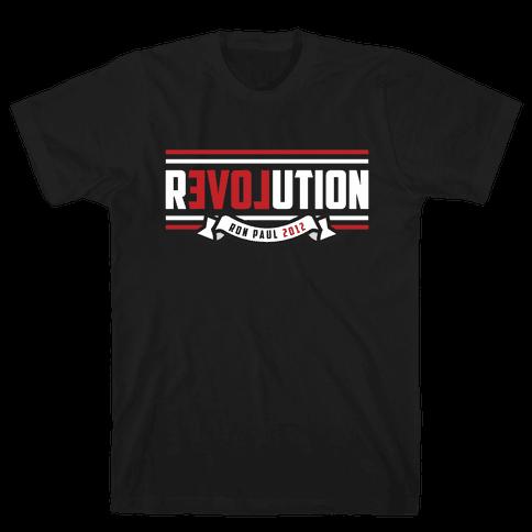 Paul Revolution 2012 Mens T-Shirt