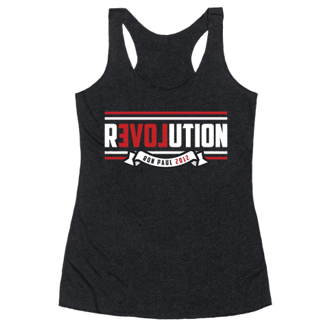 Paul Revolution 2012 Racerback Tank Top