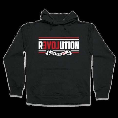 Paul Revolution 2012 Hooded Sweatshirt