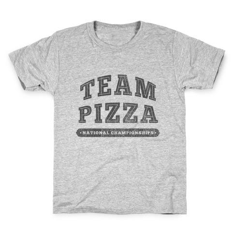 Team Pizza Kids T-Shirt