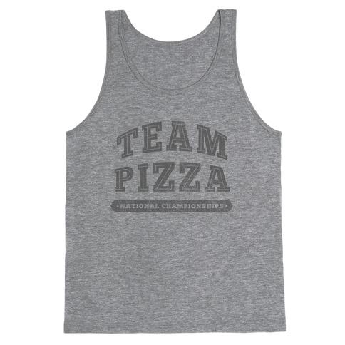 Team Pizza Tank Top