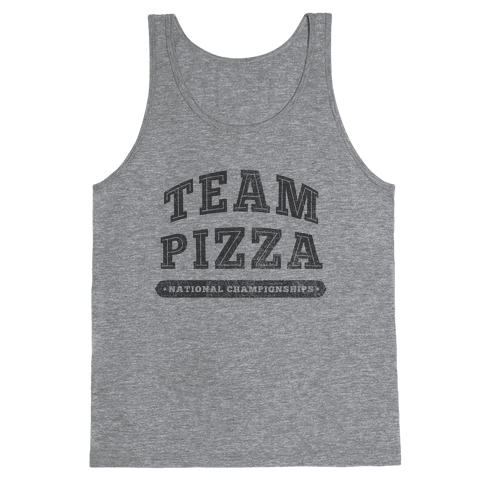 Team Pizza Tank Top