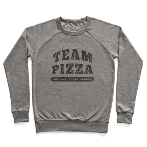 Team Pizza Pullover