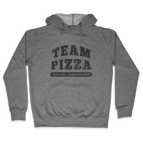 Team Pizza Hooded Sweatshirt