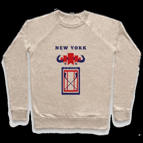 New York Stadium Hockey Fan Pullover